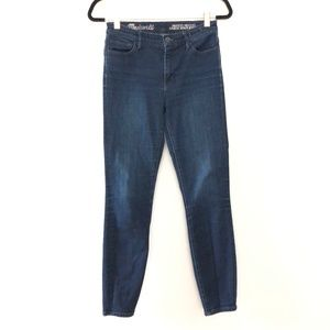 Madewell Skinny Skinny Ankle High Riser Jeans 26